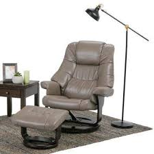 gray wingback chair. Ledi Taupe Air Leather Recliner (Set Of 1) Gray Wingback Chair