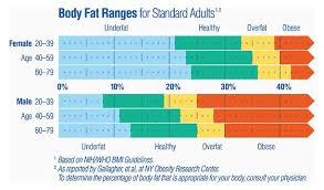 Body Fat Obesity Chart Pin On Health Fitness