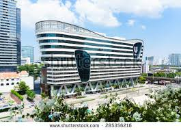 hulu corporate office share. Unilever Office. Bangkok, Thailand - May 31, 2015: House Head Office Hulu Corporate Share