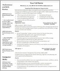 Free Resume Templates Microsoft Office Word 2007 Resume Resume