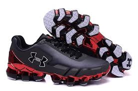 under armour men s shoes. under armour men\u0027s ua scorpio running shoes carbon black/red men s