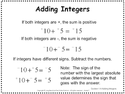 Math Integers Worksheets Grade 7 & free times table worksheets 7 ...