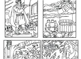 Bible Story Coloring Page Preschool Bible Story Coloring Pages Free