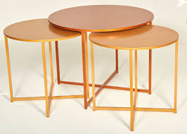 tables round display tables assorted colours