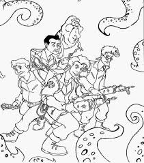 Small Picture Printable Ghostbusters Coloring Pages With Printable Coloring