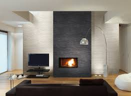 Amazing Decoration Fireplace Wall Tile Charming Ideas 43 Best Images About  Fireplace Heater Concepts On Pinterest