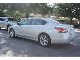 nissan altima 2014 silver.  Silver Used 2014 Nissan Altima 25 SL Sedan For Sale In Houston TX In Silver 4