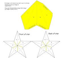 paper star lantern template