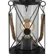 <b>Настольная лампа Eglo</b> «Bradford» 1xE27х60 Вт, стекло, цвет ...