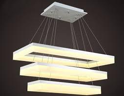multi tier led chandelier light fixture pendant lighting