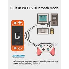Máy Chơi Game RGB10 Max Màn Hình IPS 5inch FUll OCA Hỗ Trợ 10+ Dòng Games  PSP/Dreamcast/PS1... - PSP