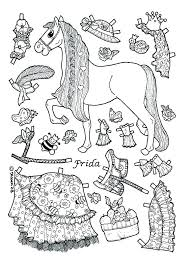 Paper Dolls To Print Doll Coloring Page Doll Coloring Page Paper