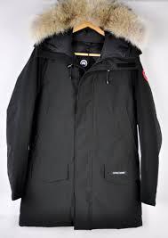 Canada Goose Men s Langford Parka 2062M Black Size Medium