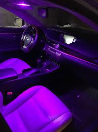 Purple Led Interior Dome Lights Installed The Purple Dome Lights Pics Clublexus Lexus