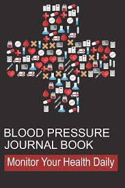 log measurements blood pressure journal book log book for tracking daily