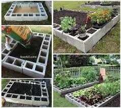 Small Picture Cinder Block Raised Garden Bed Video