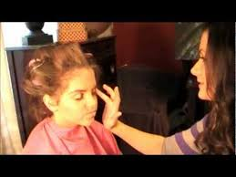 please like if you love pageants this is a semi glitz or glitz pageant makeup tutorial that i did on kenzie hartley she is the si