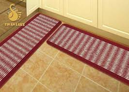 full size of red and brown kitchen rugs mats customized washable magnificent floor vari
