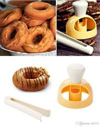 2019 diy donut mold with dipping clamp baking kitchen tools hollow bread doughnut moulds desserts maker hot 6 5qc ii from bd003 2 35 dhgate com