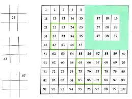 I Chart Math 100 Chart Tic Tac Toe Focus On Math