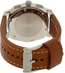 fossil machine leather mens watch fs5131 fossil machine leather mens watch fs5131