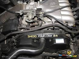 2001 Toyota Tacoma V6 PreRunner TRD Double Cab Engine Photos ...