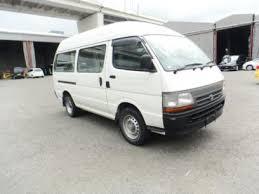 Japanese Used TOYOTA HIACE VAN HIGH ROOF?PETROL LONG?MANUAL?ENGINE ...