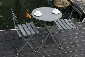 folding garden furniture set bau outdoors