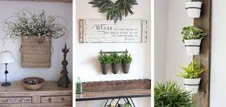 hanging wall vase and planter ideas