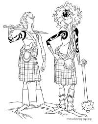 Small Picture In this coloring page are Lord Macintosh and his athletic son