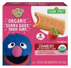 Strawberry <b>Sunny Days</b> Snack Bars