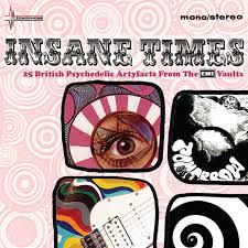 <b>Various Artists</b> – <b>Insane</b> Times - 25 British Psychedelic Artefacts ...