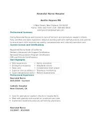 Sample Nursing Resume Cover Letter Nursing Resume Cover Letter