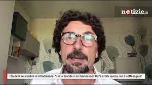 """Toninelli sul reddito di cittadinanza: """"Chi lo prende è fannullone? Il 15%  lavora, ma è sottopagato"""" - YouTube"""