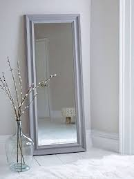15 best collection of white long wall mirrors