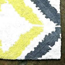 yellow and gray bathroom rug bath rugs grey runner
