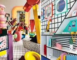 memphis design furniture. Memphis Style Furniture And Interior Design I