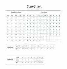 Size Chart Converter Curvy Kate