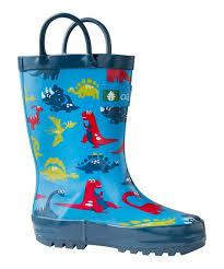 Oakiwear Rain Boots Size Chart Oaki Blue Dinosaur Rain Boot Kids