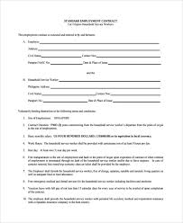 Give our employment contract template a makeover with jotform pdf editor. Free 6 Sample Employment Contract Forms In Pdf Ms Word