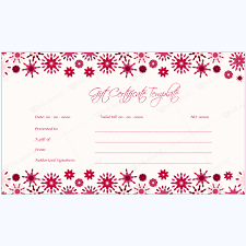 Gift Certificates For Your Business 5 Gift Voucher Templates For Creating Gift Vouchers This Season