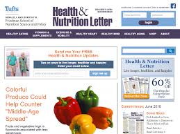 tufts health nutrition letter contact