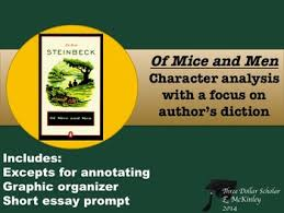 of mice and men character analysis focus on diction denotation of mice and men 2 character analysis focus on diction denotation connotation