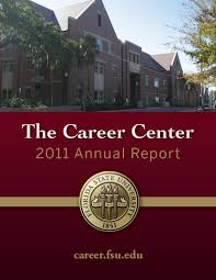 fsu career center annual report 2011 edition natalie kates annual report cover page 1