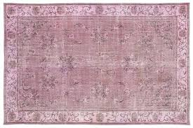 vintage pink rug 1 overdyed rugs over dyed nz