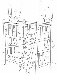 Small Picture Bunk bed with stair coloring pages Download Free Bunk bed with