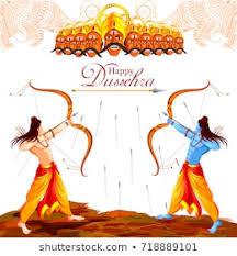 Dussehra Charts For School Dussehra Images Stock Photos Vectors Shutterstock