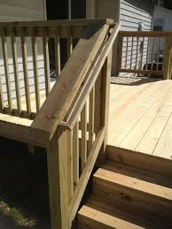 diy deck stair railing designs 1292 best images about deck railing ideas on
