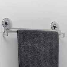 towel bar with towel. Solutions Wall Mounted Towel Bar With E