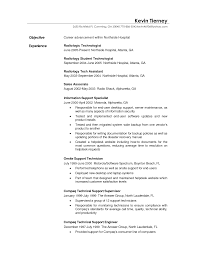 Technical Support Resume Objective Examples Unique Cover Letter For